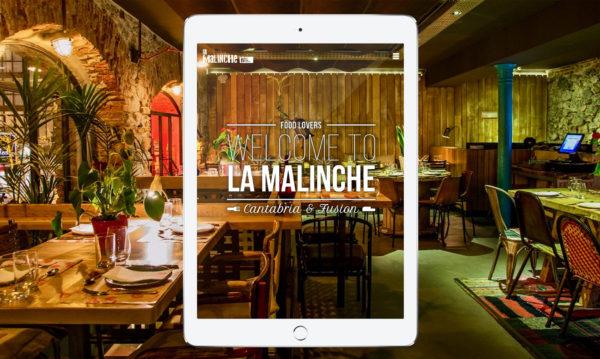 Diseño web para La Malinche