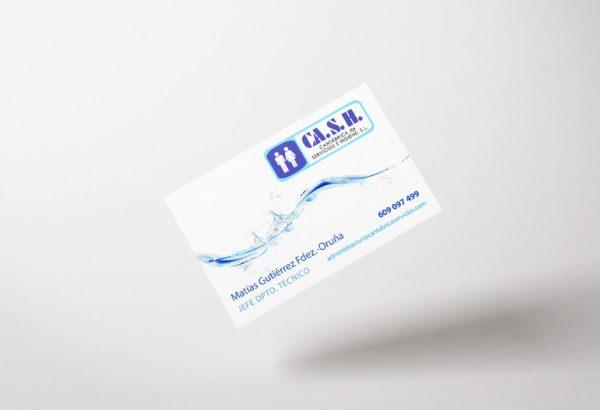 Diseño de tarjetas para CA.S.H.