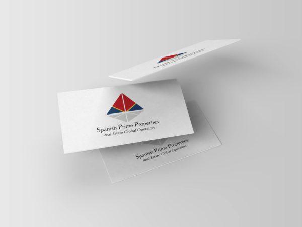 Logo y Tarjetas para Spanish Prime Properties